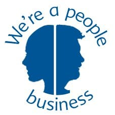 We're a people business